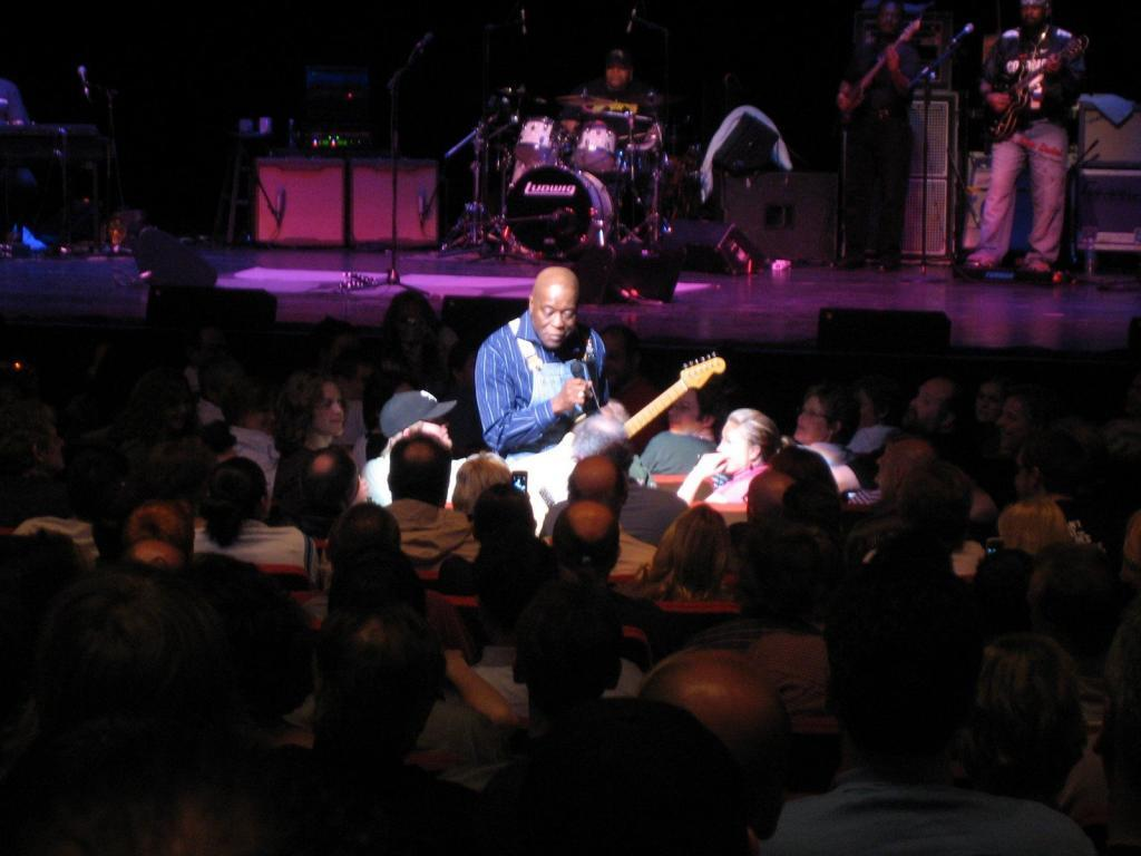 Buddy Guy in the Audience