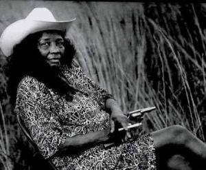 Folk and blues singer Jessie Mae Hemphill (Photo by Steve Gardner)