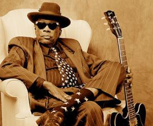 "John Lee Hooker ""Star Socks"" by Robert Knight"