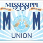 "Mississippi BB King ""Lucille"" License Plate"