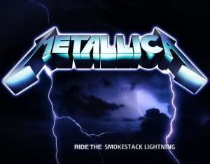 "Metallica's tenth studio album, ""Ride The Smokestack Lightning"""