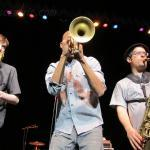 Trombone Shorty live with his band