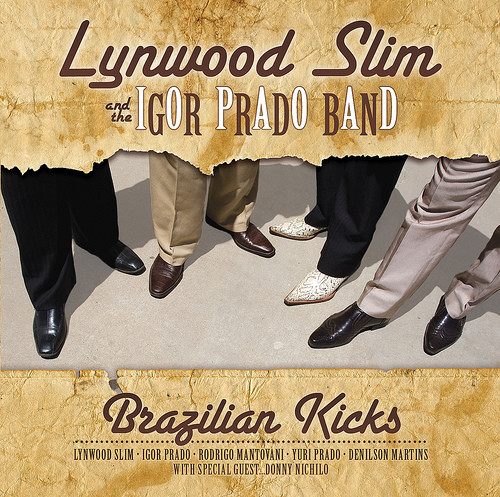 Lynwood Slim - Brazillian Kicks album cover
