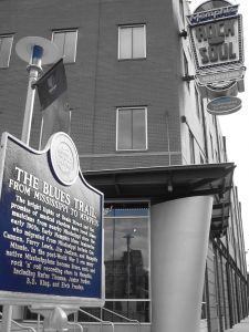 The Blues Trail beginning marker