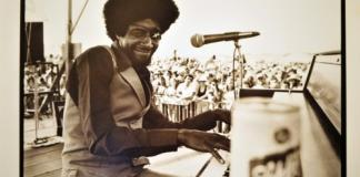 James Booker at New Orleans Jazz Festival, 1978