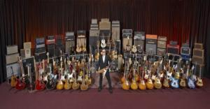 Joe Bonamassa and his Guitars
