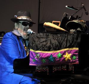 Dr John at the King Biscuit Festival 2010