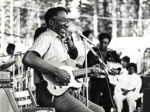 Muddy at the 1972 Ann Arbor Blues & Jazz Festiva