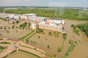 Mississippi Flood 2011 - Harrah's Casino Tunica (Trey Clark)