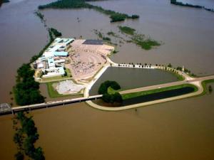 Mississippi River Flood 2011 - Helena, Arkansas