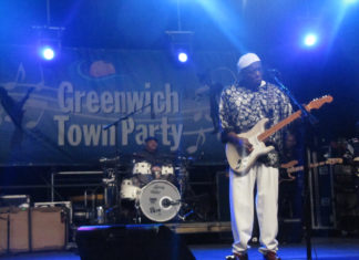Buddy Guy at Greenwich Town Party