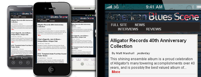 American Blues Scene Mobile FEATURED