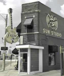 Sun Studio, Union Avenue, Memphis, Tennessee. (Photo courtesy Matt Marshall, Bluescentric.com)