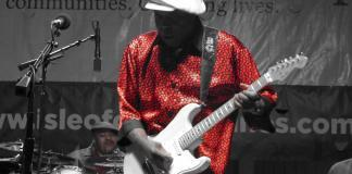 Buddy Guy at the 2011 King Biscuit Blues Festival