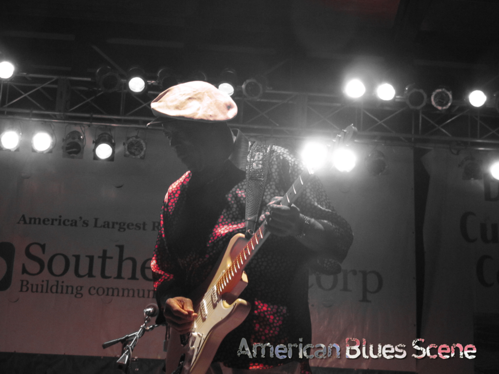 Buddy Guy at the King Biscuit Festival