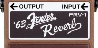 Boss Fender Reverb Pedal