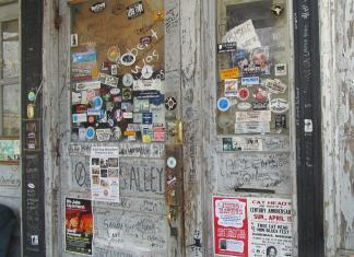 Ground Zero Blues Club Door