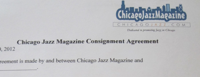 Chicago Jazz Magazine at Chicago Blues Festival
