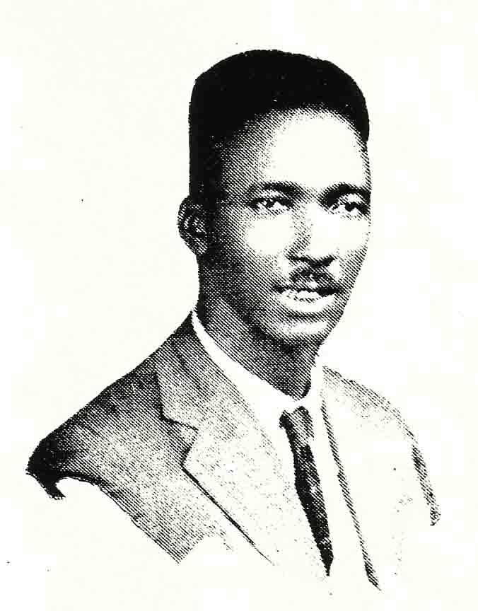 Tommy Johnson in his only known photo, from the Victor Records catalog, 1928 (courtesy photo archives, Delta Haze Corporation)
