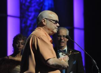 Curtis Salgado at the Blues Music Awards. Photo Copyright © Lynn Orman Weiss