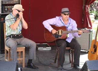 The Songsters at the Mount Tremblant International Blues Festival