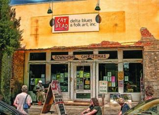 Cat Head Delta Blues and Folk Art Gallery (Photo art by Chuck Lamb)