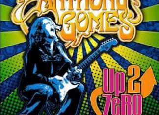 Anthony Gomes Up 2 Zero cover