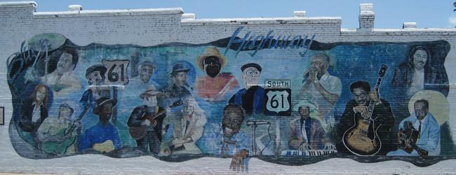 Highway 61 Mural