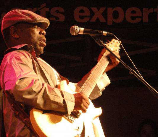 Lucky Peterson at the Trois Rivieres Festival