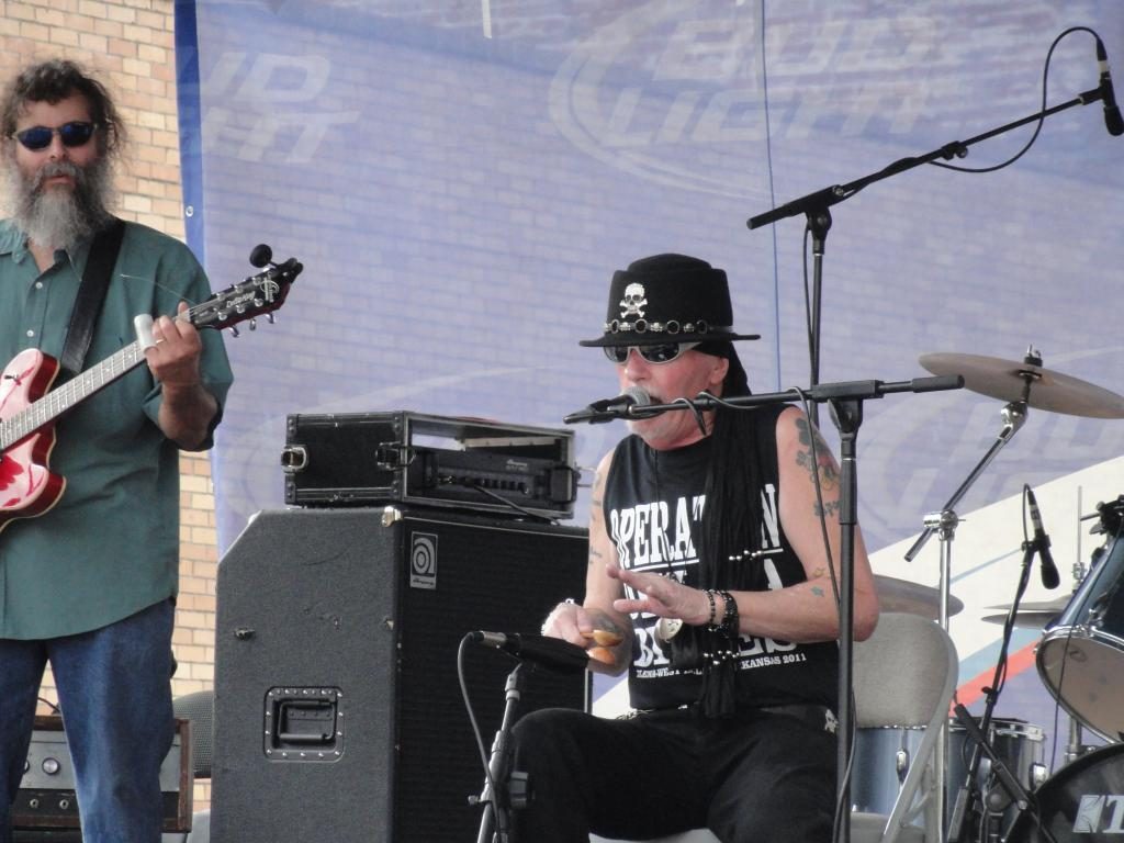 The Mississippi Spoonman at the King Biscuit Festival 2012