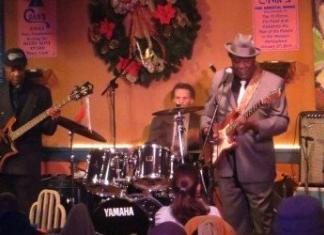 "Luther ""Guitar Junior"" Johnson and the Magic Rockers at Chans Eggrolls Blues and Jazz"