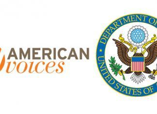 American Voices & State Dept Logo
