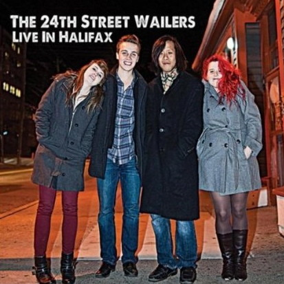 24th st wailers Live In Halifax cvr