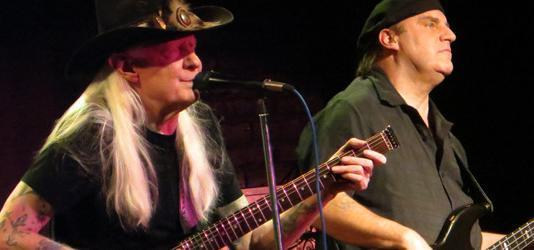Johnny Winter at Toads Place, Connecticut FEATURED