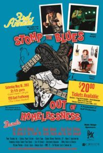 Stomp the Blues out of Homelessness Festival
