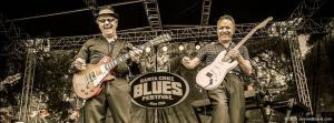 Steve Miller and Jimmy Vaughan at Santa Cruze Blues Festival (Photo: © Jerome Brunet Photography http://www.JeromeBrunet.com)