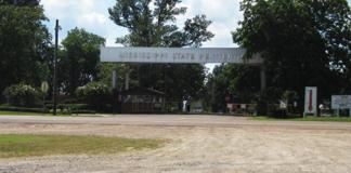 Parchman Prison Farm, outside of Tutwiler, Mississippi (Photo courtesy Bluescentric.com) FEATURED
