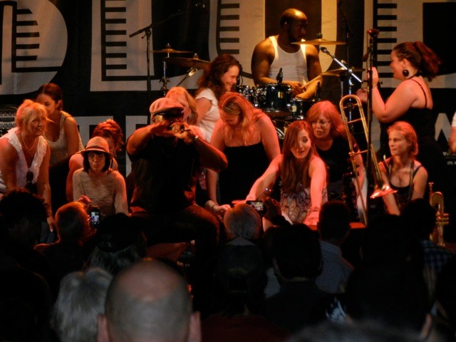 Big Sam's Funky Nation lead a huge throw-down at Mt Tremblant International Blues Fest (Photo: Charlie Frazier)