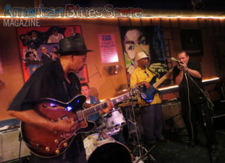 John Primer at the Blues Music Award-winning Chan's Eggrolls and Jazz in Woonsocket, Rhode Island