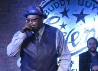 Smokey Holmann at Buddy Guy's Legends (Photo: Lee Ann Flynn)