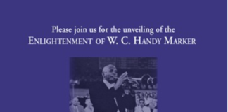 WC Handy Blues Trail Marker Unveiling