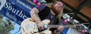Bart Walker at the King Biscuit Blues Festival FEATURED