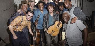 Al Williams, Misha Lindes, Johnny Depp, Roy Gaines, director Vincent Haycock, Paul McCartney, Henree Harris, Dale Atkins, Lil Poochie, Motown Maurice