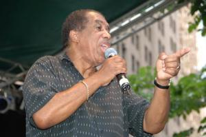"""Ben E King Performing on the Final Day of the 2006 Summerfest"""" by Flickr user J&R Music World - originally posted to Flickr as Ben E King Performing on the Final Day of the 2006 Summerfest."""