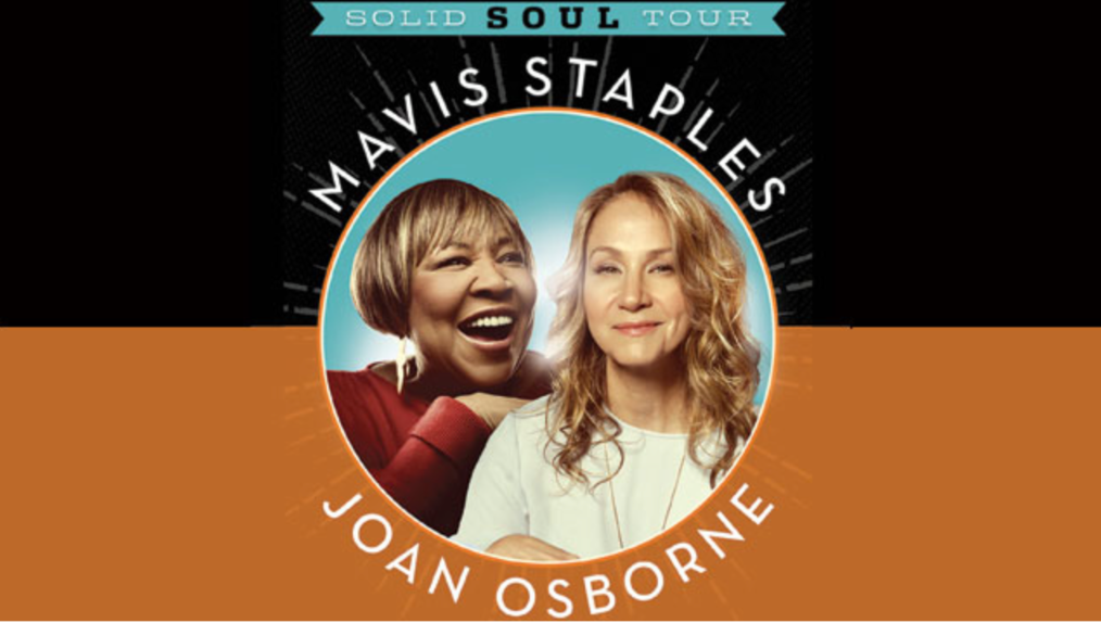 Mavis Staples and Joan Osborne Together at the Arc of Their Careers