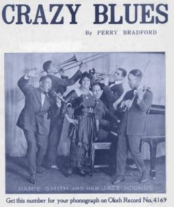Mamie Smith's Crazy Blues