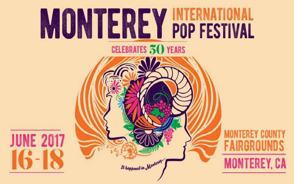 Image result for monterey pop 59th anniversary logo