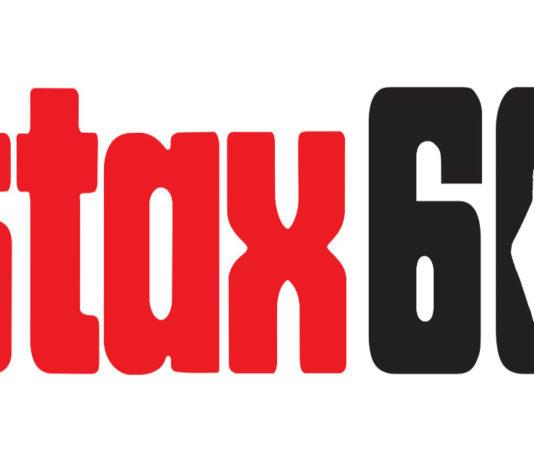 Stax 60 logo horizontal red snap