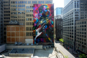 Muddy Waters Mural artist Eduardo Kobra website 1