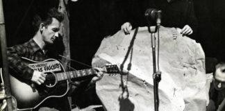 Woody Guthrie Photo Smithsonian Folkways